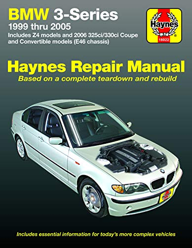 9781563929663: BMW 3-Series: 1999 thru 2005 (Haynes Repair Manual)