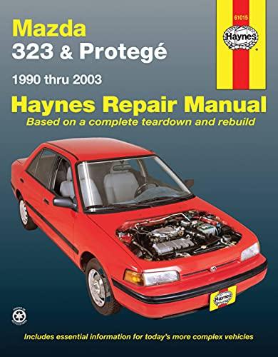 9781563929687: Mazda 323 & Protegé Automotive Repair Manual (1990-2003) (Haynes Repair Manual)