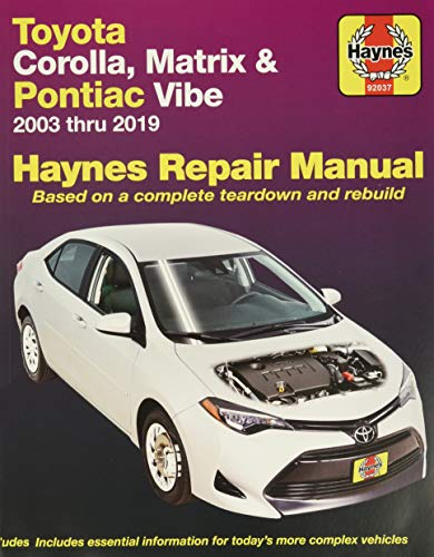 Toyota Corolla: 2003 thru 2011 (Haynes Repair: John Haynes