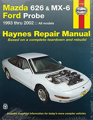Mazda 626 & MX-6 & Ford Probe: 1993 Thru 2002 - All Models (Haynes Automotive Repair ...
