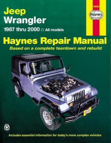9781563929830: Jeep Wrangler 1987 - 2011 Repair Manual (Haynes Repair Manual (Paperback))