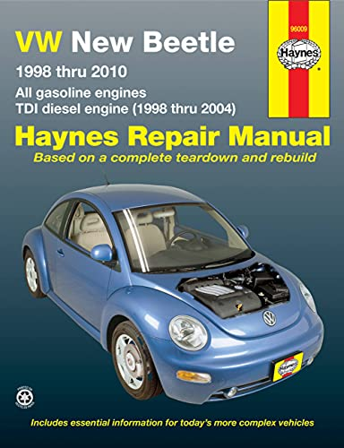 9781563929946: VW New Beetle 1998 thru 2010: All gasoline engines - TDI diesel engine (1998 thru 2004)