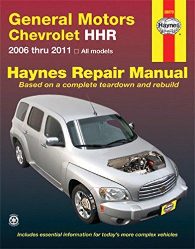 9781563929991: GM Chevrolet HHR, 2006-2011 Repair Manual (Haynes Repair Manual)