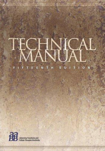 9781563951961 technical manual aabb technical manual of the rh abebooks com aabb technical manual 15th edition pdf aabb technical manual 14th edition