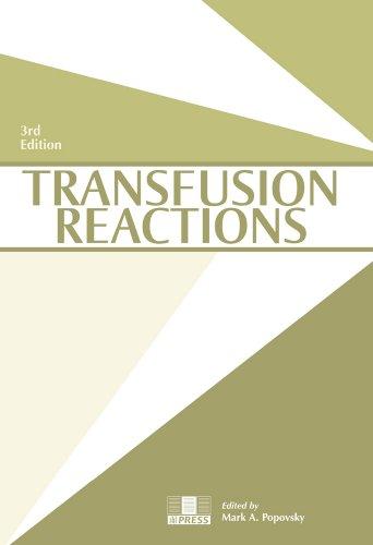 9781563952449: Transfusion Reactions, 3rd edition