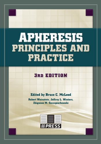 Apheresis: Principles and Practice, 3rd edition: AABB Press; Editor-Bruce