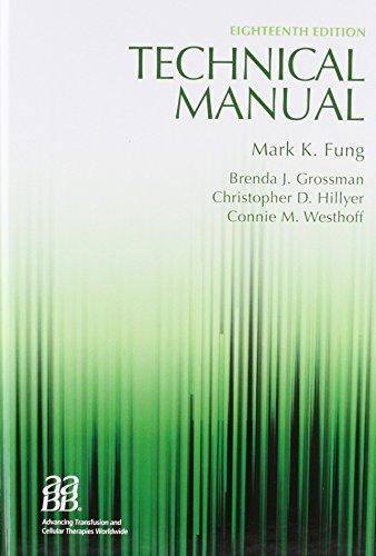 technical manual 18th edition by aabb american association of rh abebooks com aabb technical manual pdf aabb technical manual 19th edition