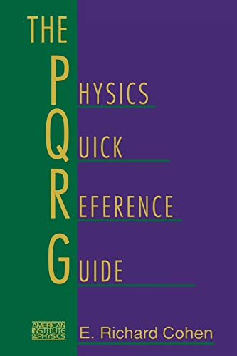 9781563961434: The Physics Quick Reference Guide