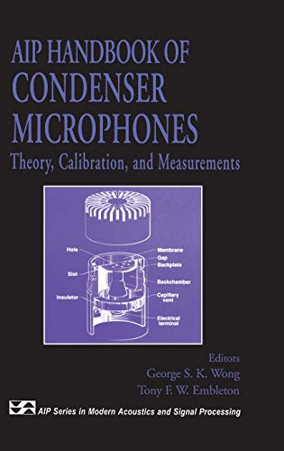 AIP Handbook of Condenser Microphones: Theory, Calibration: George S.K. Wong