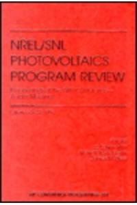 14th NREL Photovoltaics Program Review: Proceedings (AIP: C.E. Witt, M.