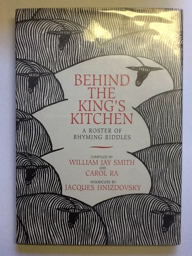 9781563970245: Behind the King's Kitchen: A Roster of Rhyming Riddles