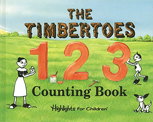 The Timbertoes 123 Counting Book: Hunt, Judith A.
