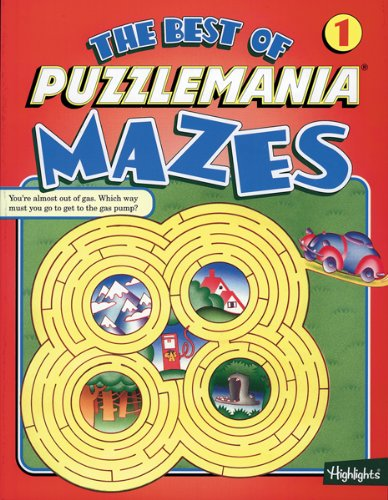 9781563979545: The Best of Puzzlemania Mazes