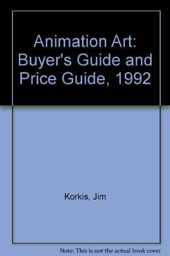 9781563980251: Animation Art: Buyer's Guide and Price Guide, 1992