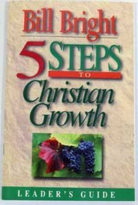 9781563990229: 5 Steps of Christian Growth (Leader's Guide)