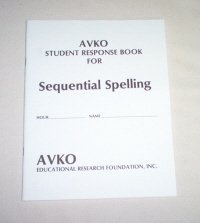 9781564003607: Avko Student Response Book for Sequential Spelling