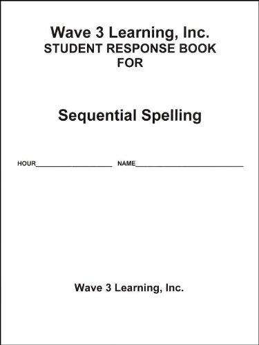 9781564003614: AVKO Student Response Book for Sequential Spelling