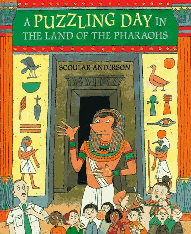 9781564028778: A Puzzling Day in the Land of the Pharaohs (Gamebook)