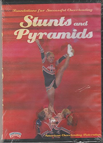 9781564043245: Stunts and Pyramids -- Founations for Successful Cheerleading (2000) (DVD)