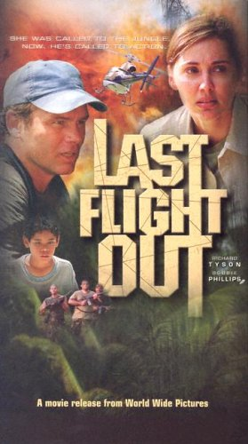 Last Flight Out: Tyson, Richard (actor); Phillips, Bobbie (actress)