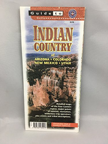 Aaa California Map.9781564134417 Indian Country Guide Map Aaa Abebooks Southern