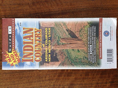 9781564134929: Indian Country Guide Map (Explore! Guide Maps)