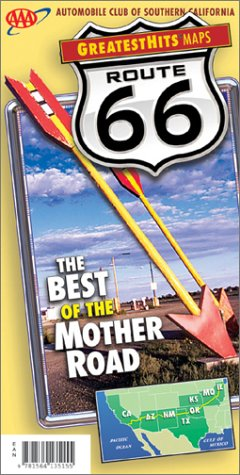 9781564135261: Route Best of the Mother Road Map