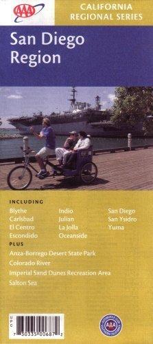 9781564136879: AAA San Diego Region: Blythe, Carlsbad, El Centro, Escondido, Indio, Julian, La Jolla, Oceanside, Sa