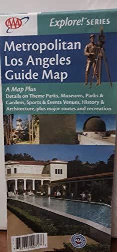 9781564137173: AAA Los Angeles Metropolitan Area Map