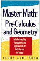 9781564142184: Master Math: Pre-Calculus and Geometry (Master Math Series)