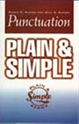 9781564142740: Punctuation Plain & Simple (Plain and Simple Series)