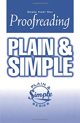 9781564142917: Proofreading Plain and Simple (In Plain English Series)