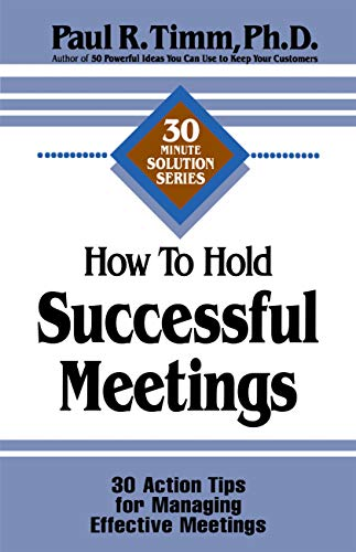 9781564143259: How to Hold Successful Meetings