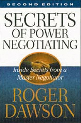 9781564143990: Secrets of Power Negotiating: Inside Secrets from a Master Negotiator
