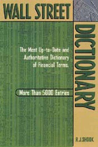 9781564144027: Wall Street Dictionary