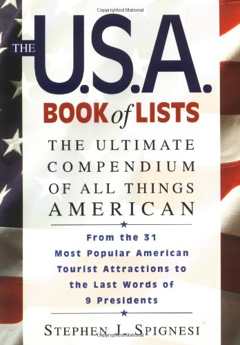 9781564144843: The U.S.A. Book of Lists: The Ultimate Compendium of All Things American