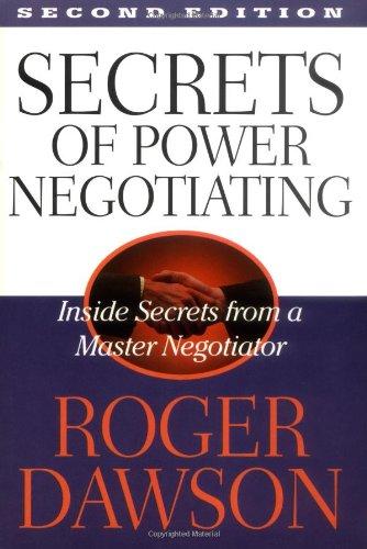 9781564144980: Secrets of Power Negotiating: Inside Secrets from a Master Negotiator