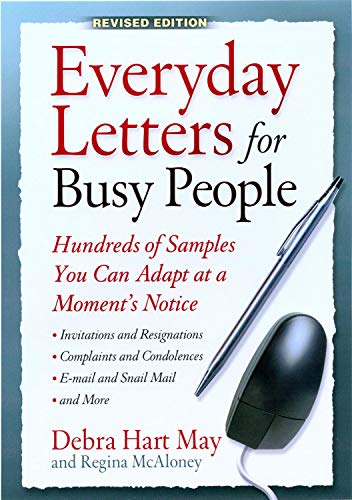 9781564147127: Everyday Letters for Busy People: Hundreds of Samples You Can Adapt at a Moments Notice Revised Edition