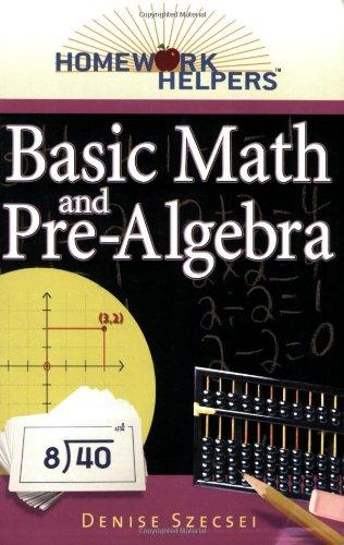 9781564148735: Homework Helpers: Basic Math And Pre-Algebra