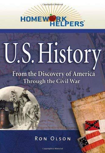 9781564149176: Homework Helpers: U.S. History (1492-1865)--From the Discovery of America Through the Civil War (Homework Helpers)