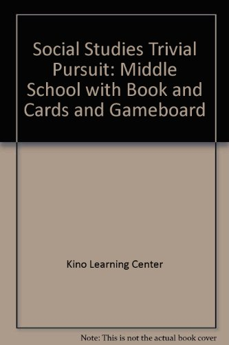 9781564178503: Social Studies Trivial Pursuit: Middle School with Book and Cards and Gameboard