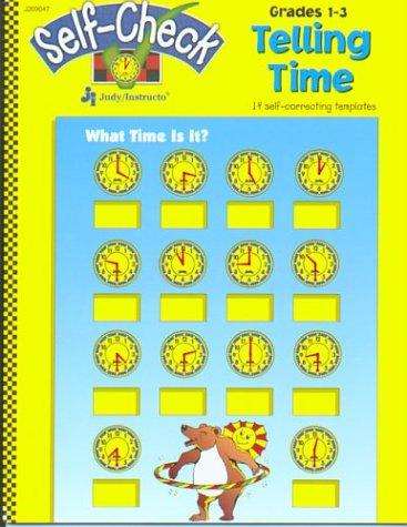 9781564179685: Telling Time: 14 self-correcting templates (Self-checks)