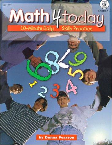 9781564179807: Math 4 Today, Grades 4-5
