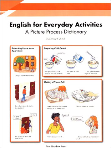 9781564202222: English for Everyday Activities: A Picture Process Dictionary