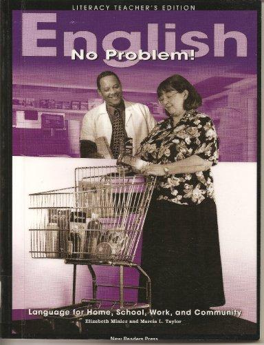 9781564203502: English-No Problem! Literacy Teacher's Edition