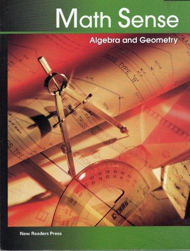 Algebra and Geometry (Math Sense): Phillips, Jan; Osmus, Kathy