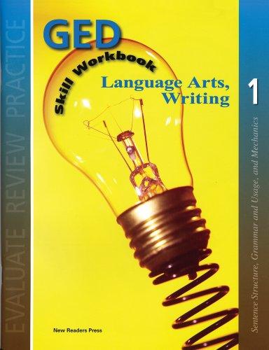 9781564205131: Lanuguage Arts, Writing. 1 (GED Skill Workbook)
