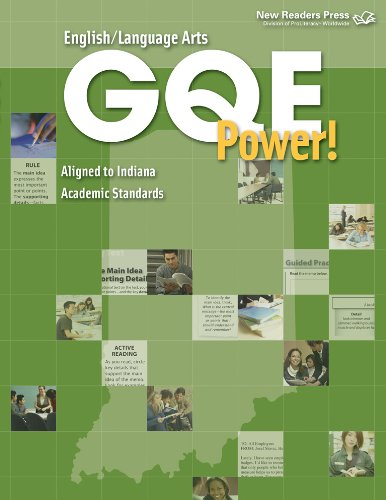 GQE Power! (English Language Arts, Ace the Indiana Graduation Qualifying Exam): Learning Unlimited ...
