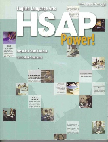 English Language Arts HSAP Power! Aligned to: New Readers Press