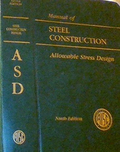 9781564240002: AISC Manual of Steel Construction: Allowable Stress Design (AISC 316-89)